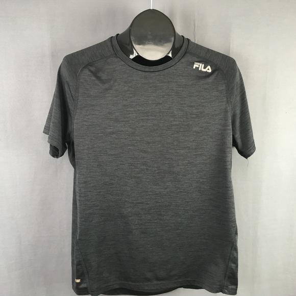 1213525e1fc5 Fila Shirts | Shirt Size Large Gray Mens Live In Motion | Poshmark